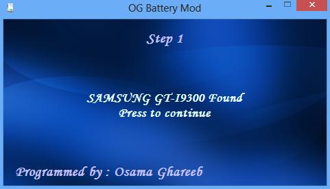 Battery mod 4