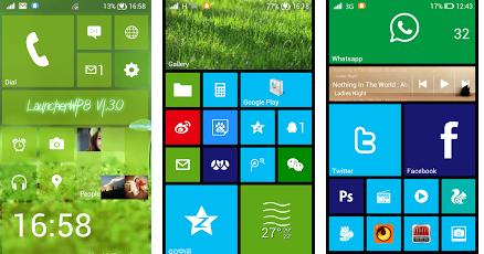 скачать на телефон лаунчер Windows - фото 10
