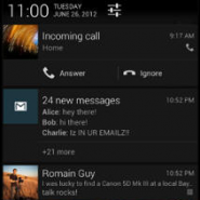 "Enrich your ""Richer"" Notification Shade with Widgets"