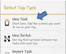 How to make tags with Multiple Actions