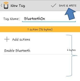 Programming an NFC Tag 7