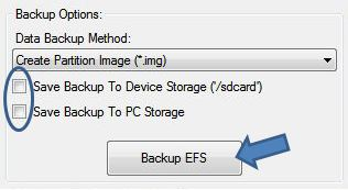 How to Back Up the EFS on Samsung Devices