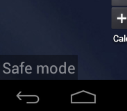 Booting into Safe Mode for Android Devices