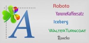 Go Launcher Fonts