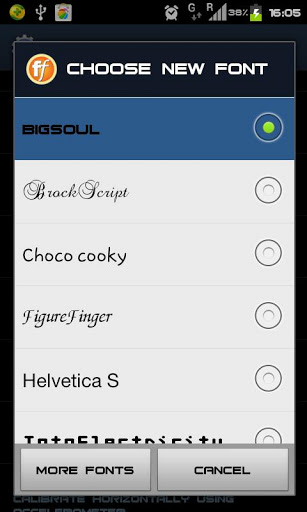 Adding custom Fonts to your Android device