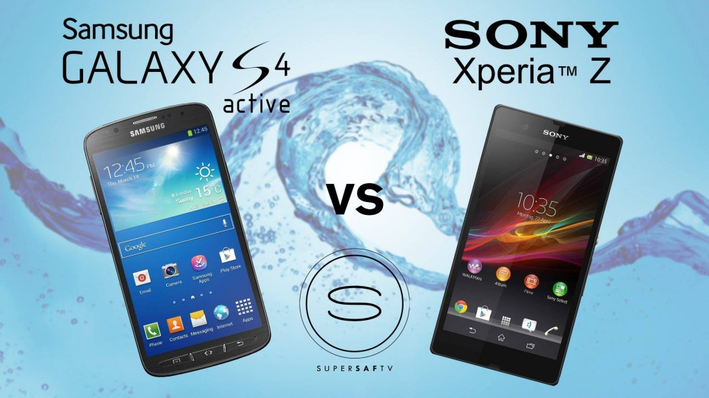 Galaxy S4 vs Xperia Z